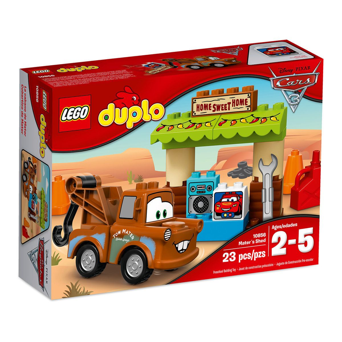 Mater S Shed Lego Duplo Playset Cars 3 B A B I E S Lego