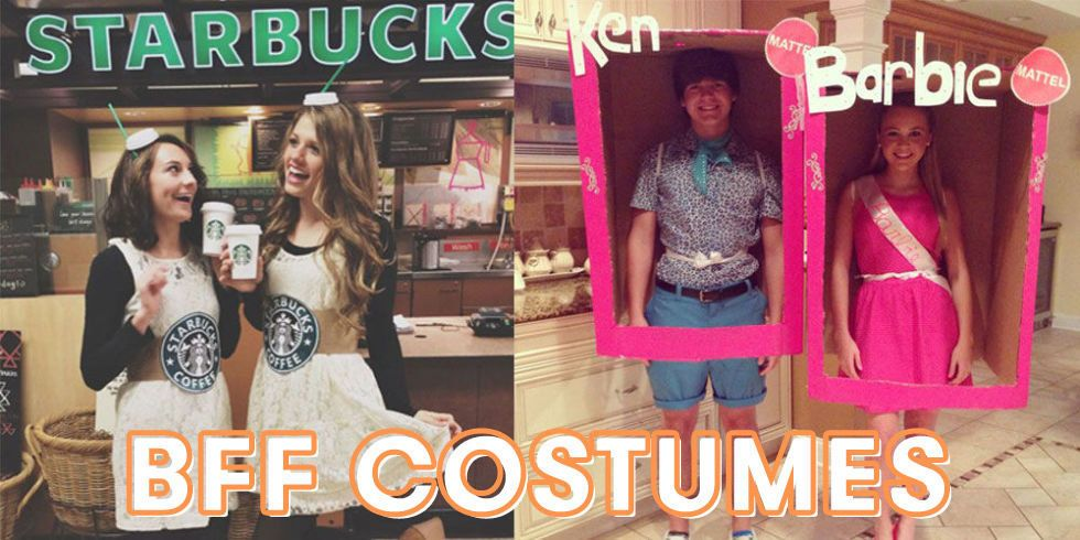 24 Genius BFF Halloween Costume Ideas You Need to Try - halloween costume ideas for friends