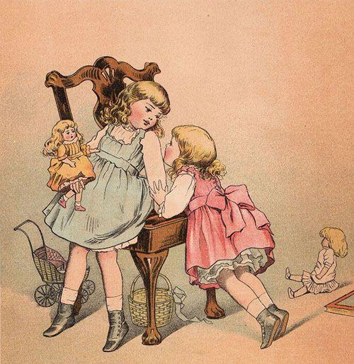 Printable Artwork Vintage Children Children Illustration Book Illustration