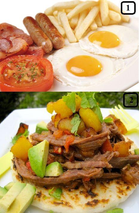 Gastronomia Tipica Colombiana