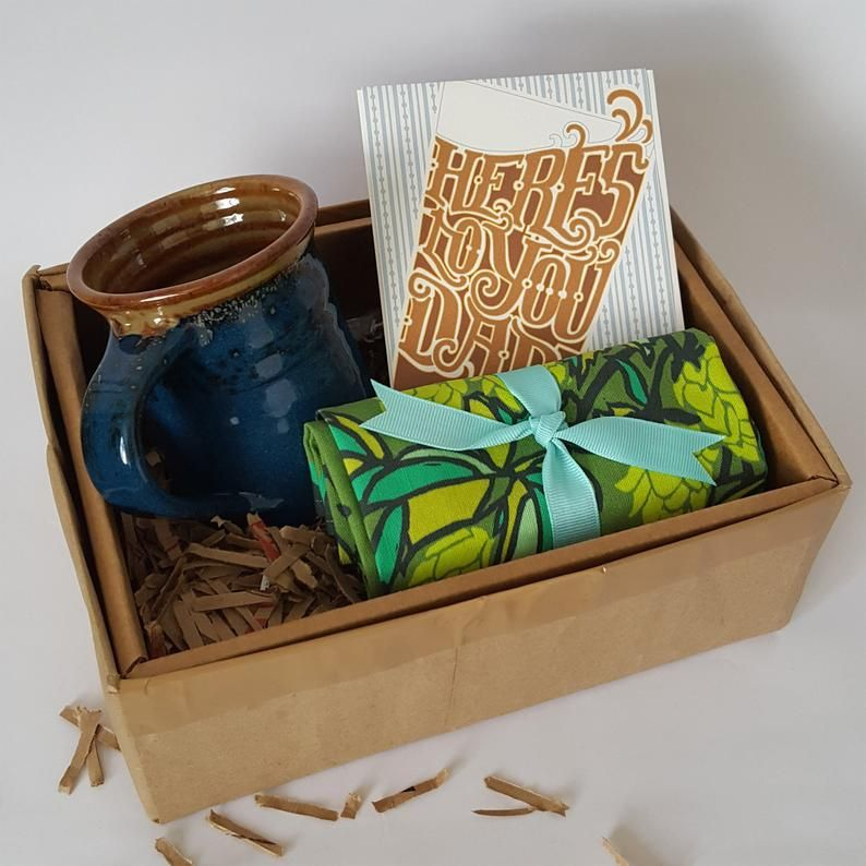 Fathers day gift box from son coffee lover gift for dad
