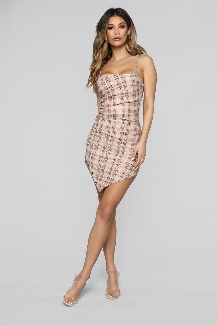 Plaid By The Rules Mini Dress Mini dress