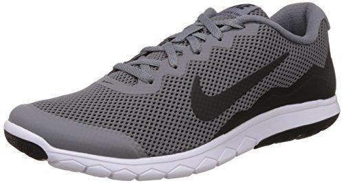 nike uomini flex esperienza rn 4 fico grigio / nero / black scarpa da corsa
