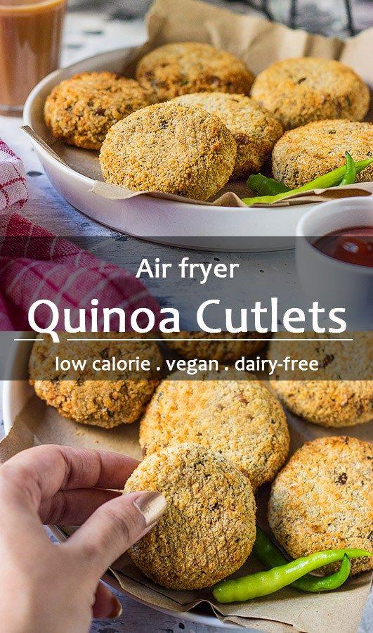 Quinoa Cutlets