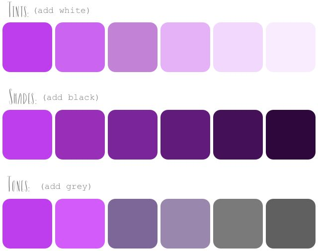 Monochromatic Palette how to create color palettes. she breaks down color theory and