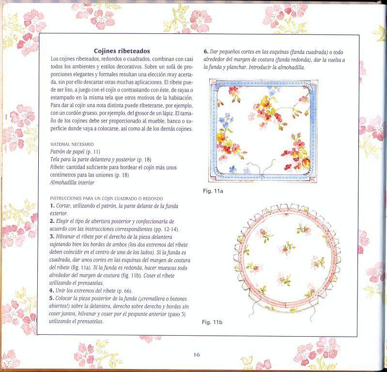 TUTORIAL COMO HACER DISTINTOS MODELOS DE COJINES | Es facil, Modelo ...
