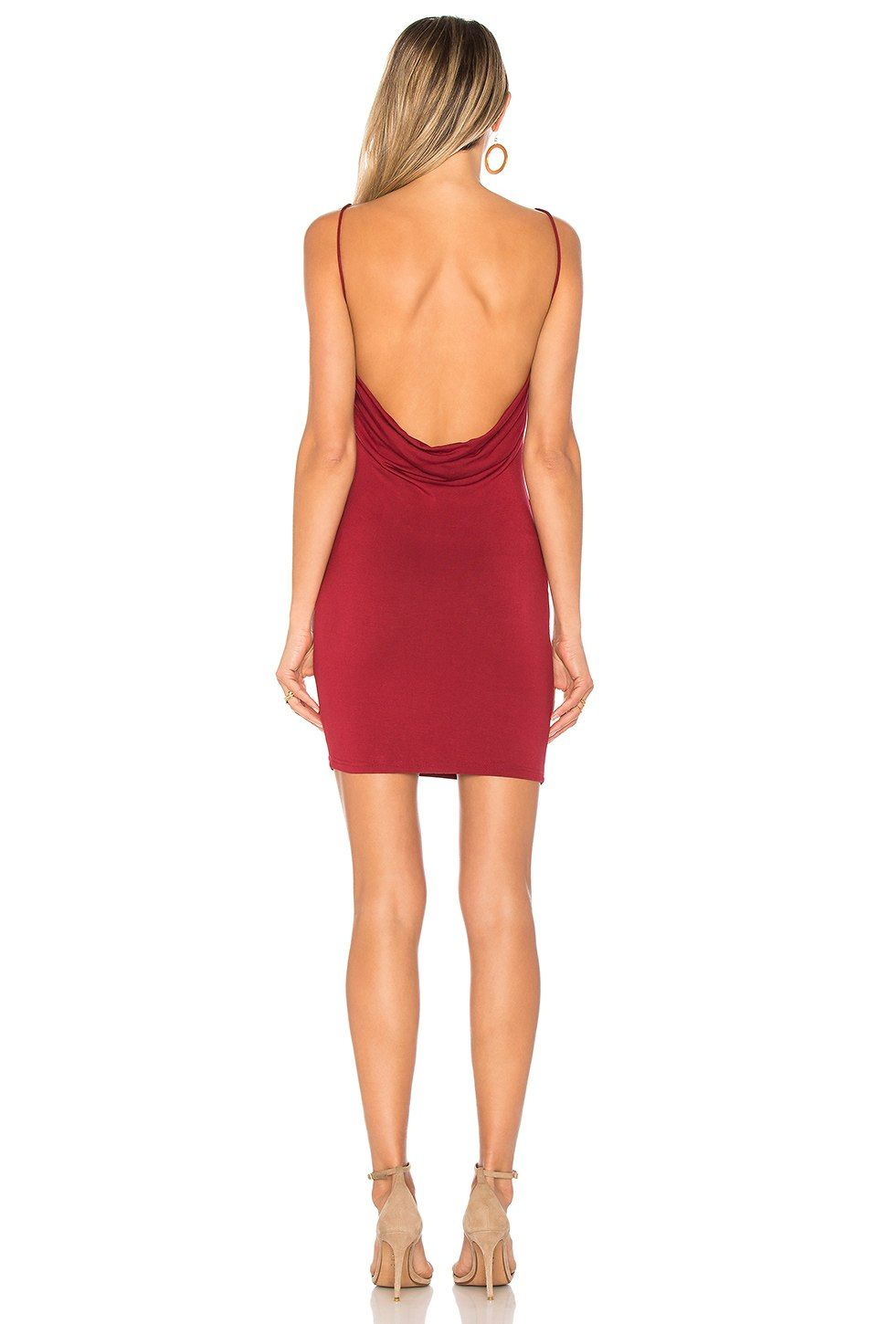 Petra Backless Mini Dress in Rose. - size L (also in M,S,XL,XS) by the way.