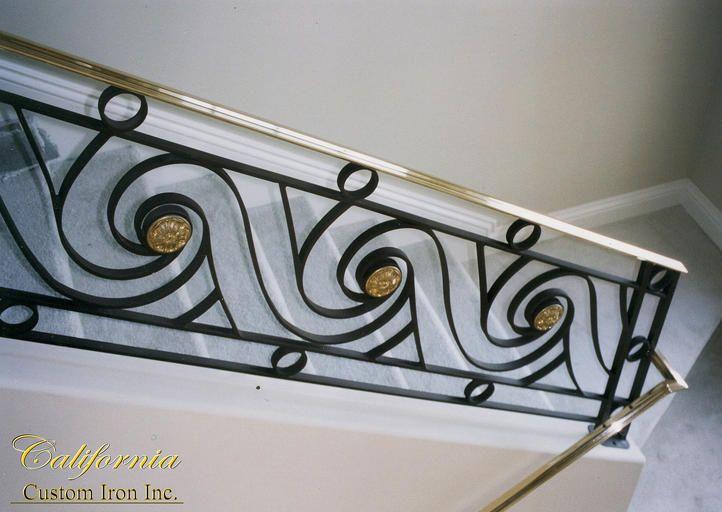 California Custom Iron | Spiral Stairs, Iron Railing, Cable .