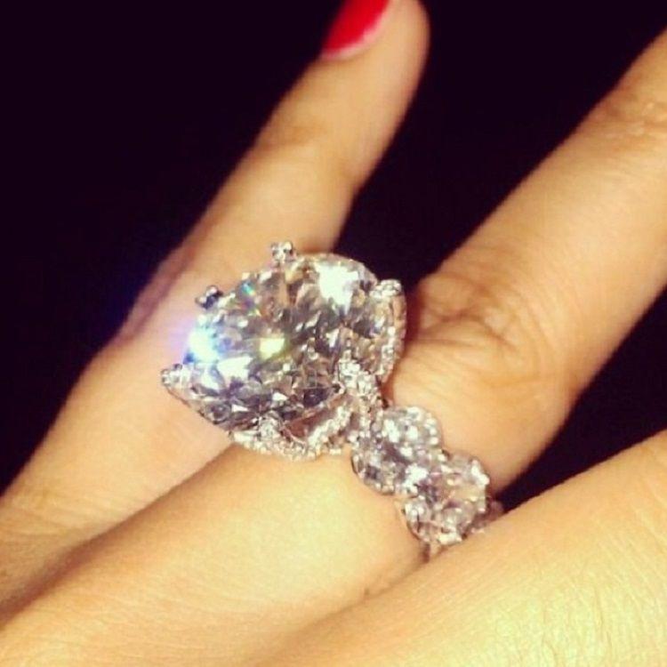 Giant Wedding Ring Wedding Rings Rings Floral Rings