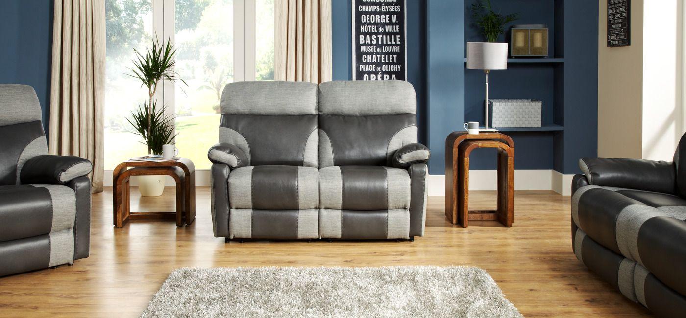 Enjoyable Ralph 2 Seater Manual Recliner Sofa Scs 579 Reclining Inzonedesignstudio Interior Chair Design Inzonedesignstudiocom