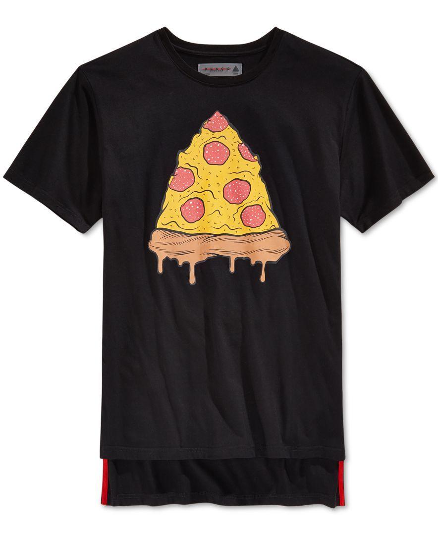 Orphan black t shirt uk - Black Pyramid Men S Pizza Graphic Print T Shirt