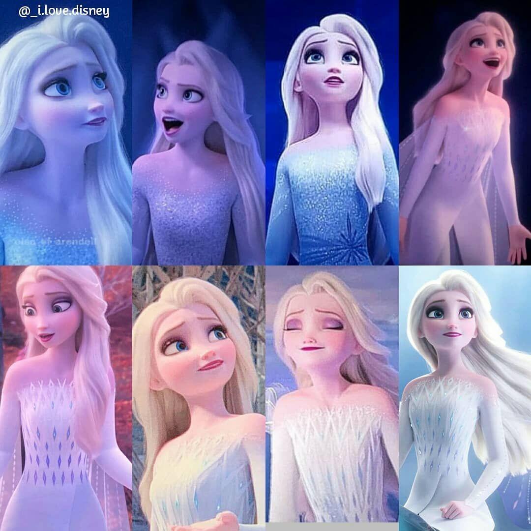 I Love Disney on Instagram: Im still getting used to Elsas beautiful flowing hai…