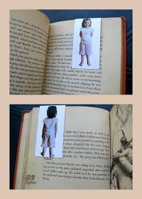 Having Fun at Home: Front and Back Photo Bookmarks