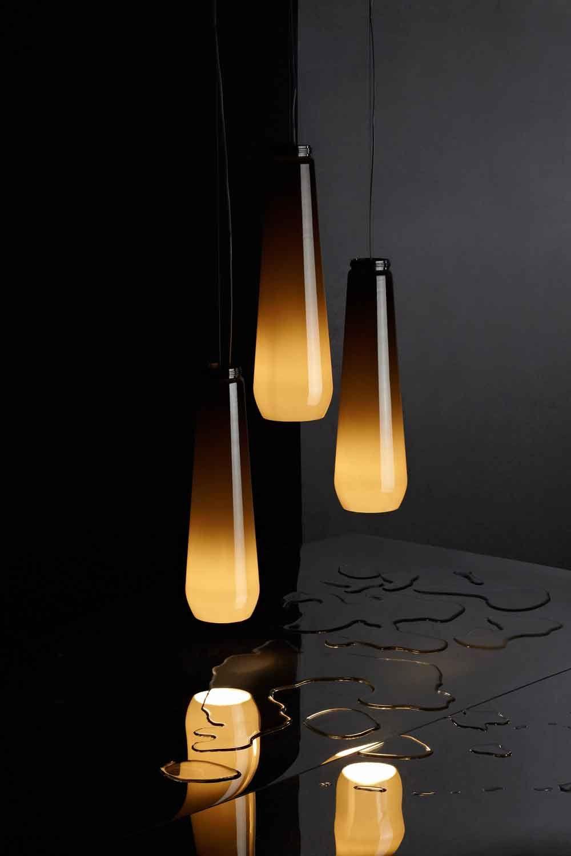Glassdrop Pendant Light Cubbeme Design Lampen Coole Beleuchtung Anhanger Lampen