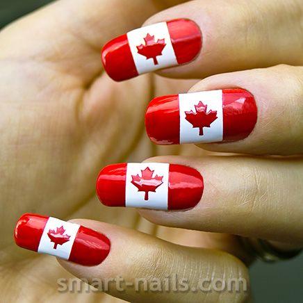 smART nails ~ Nail Art Stencils - Shop online: Canadian Flag https:// - SmART Nails ~ Nail Art Stencils - Shop Online: Canadian Flag Https