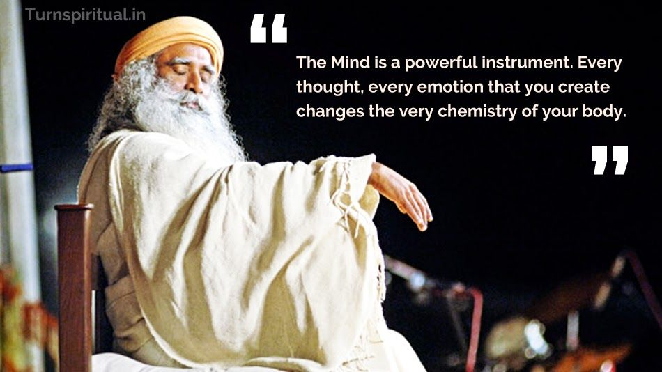 Sadhguru Inspiring quotes about life, Chemistry quotes