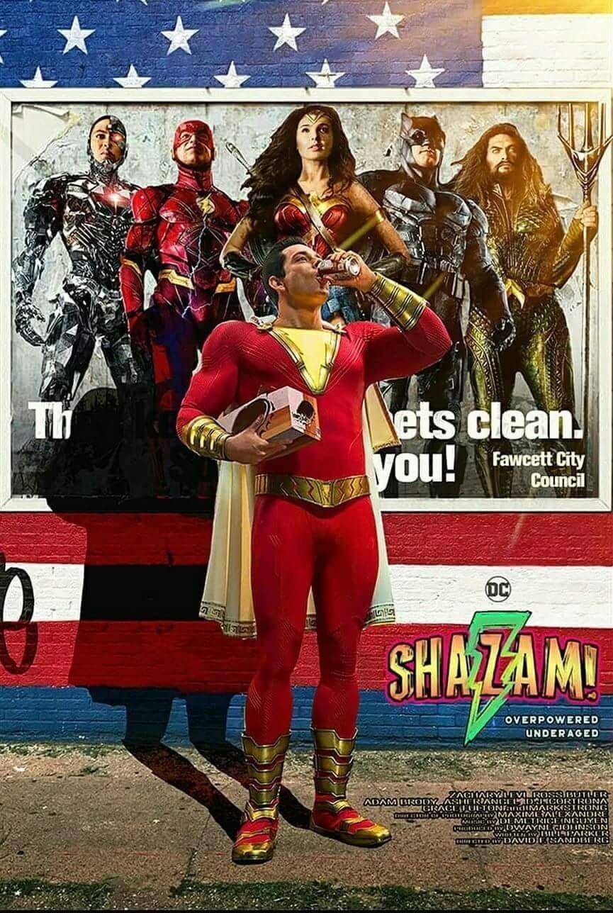 Pin By Whats Up Danger On Superhero Shazam Movie Shazam Captain Marvel Shazam