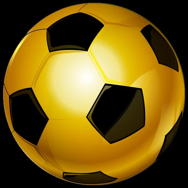 Gold Soccer Ball Png Clip Art Image Soccer Ball Football Clip Art Soccer