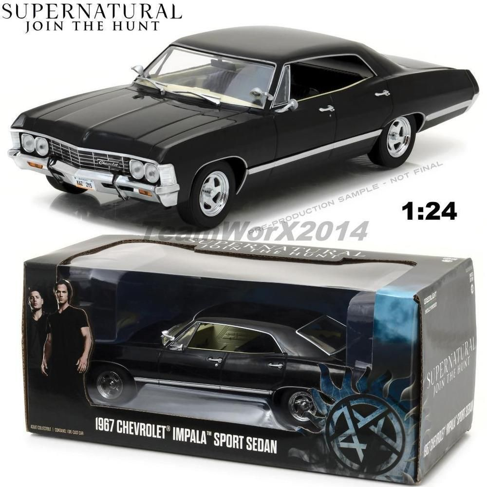 Greenlight 84032 1967 Chevy Impala Sport Sedan Supernatural