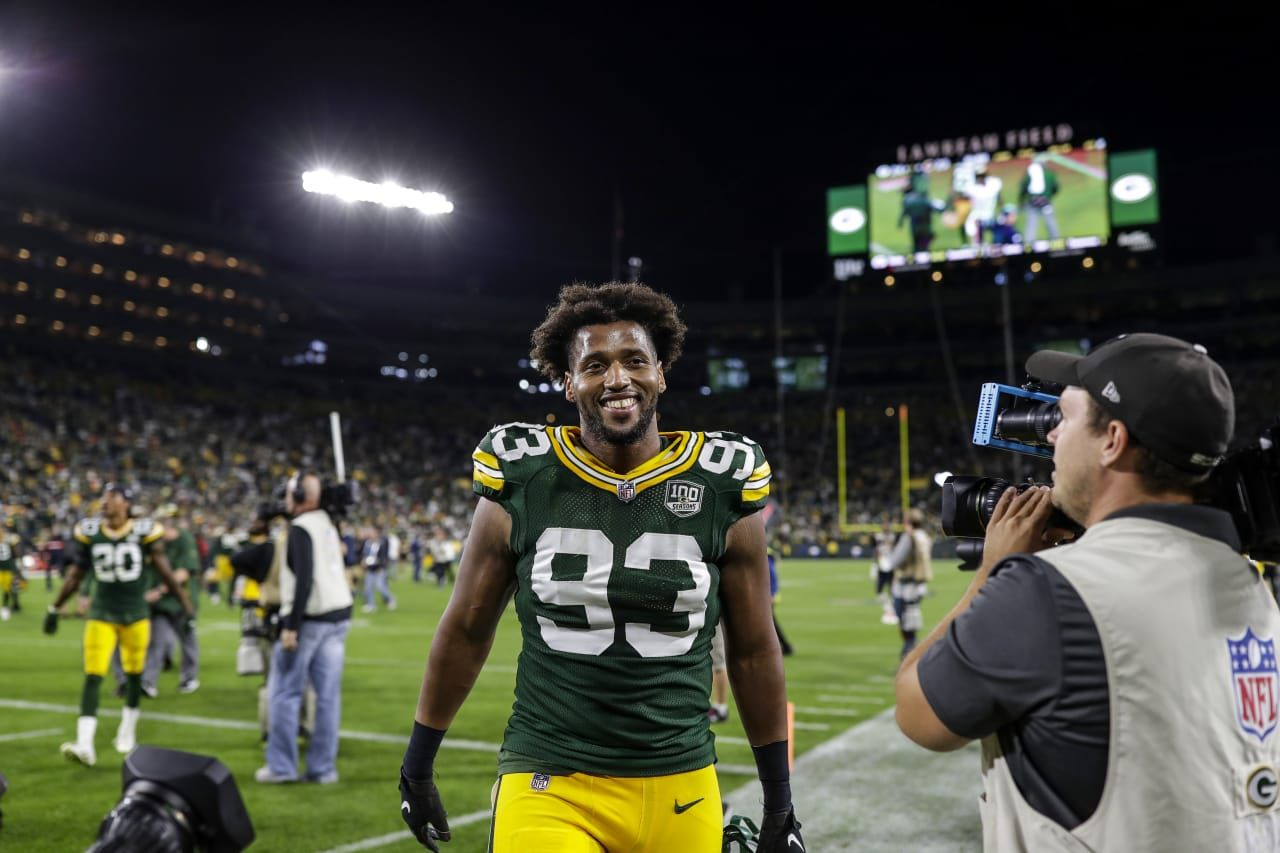 online store 01b04 e6e42 LB Reggie Gilbert 9/9/2018 | packers rule | Packers, Green ...