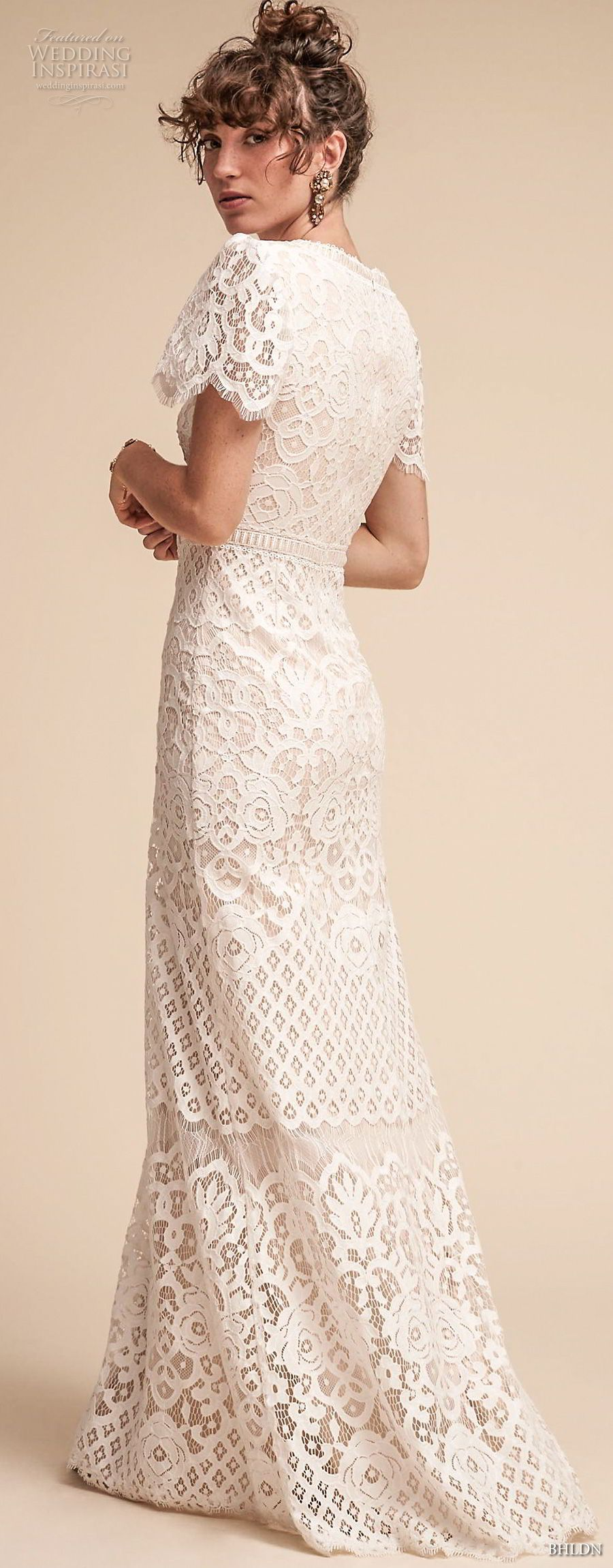 Bhldn spring wedding dresses bohemian wedding dress and spring