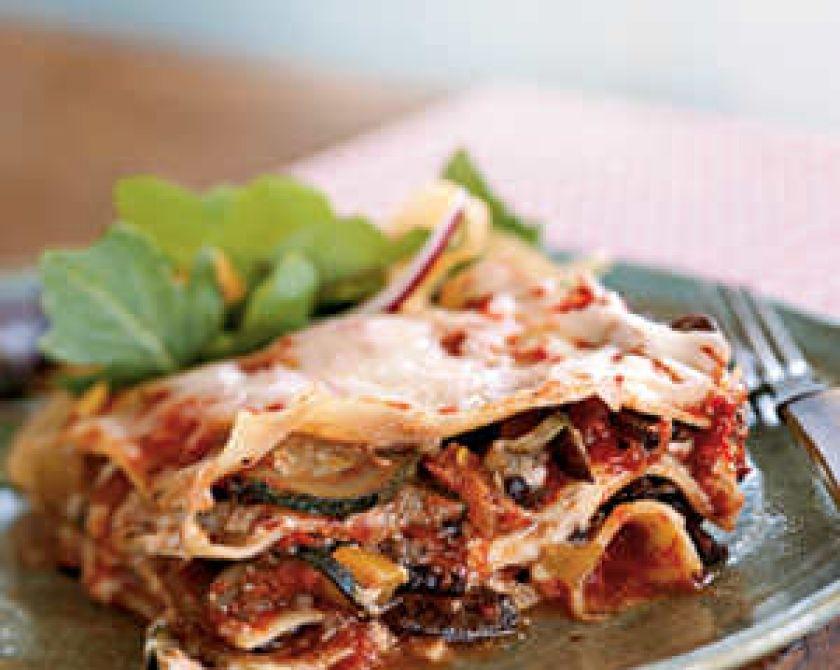 Lasagna bună pentru pierderea în greutate, Vegan Motor 2 Diete Vegetale Lasagna Rețetă