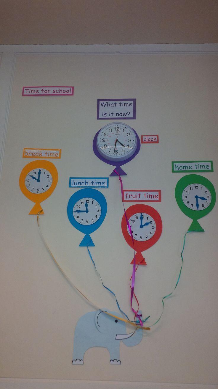 Classroom Layout Ideas Ks1 ~ Telling the time display discipline pinterest