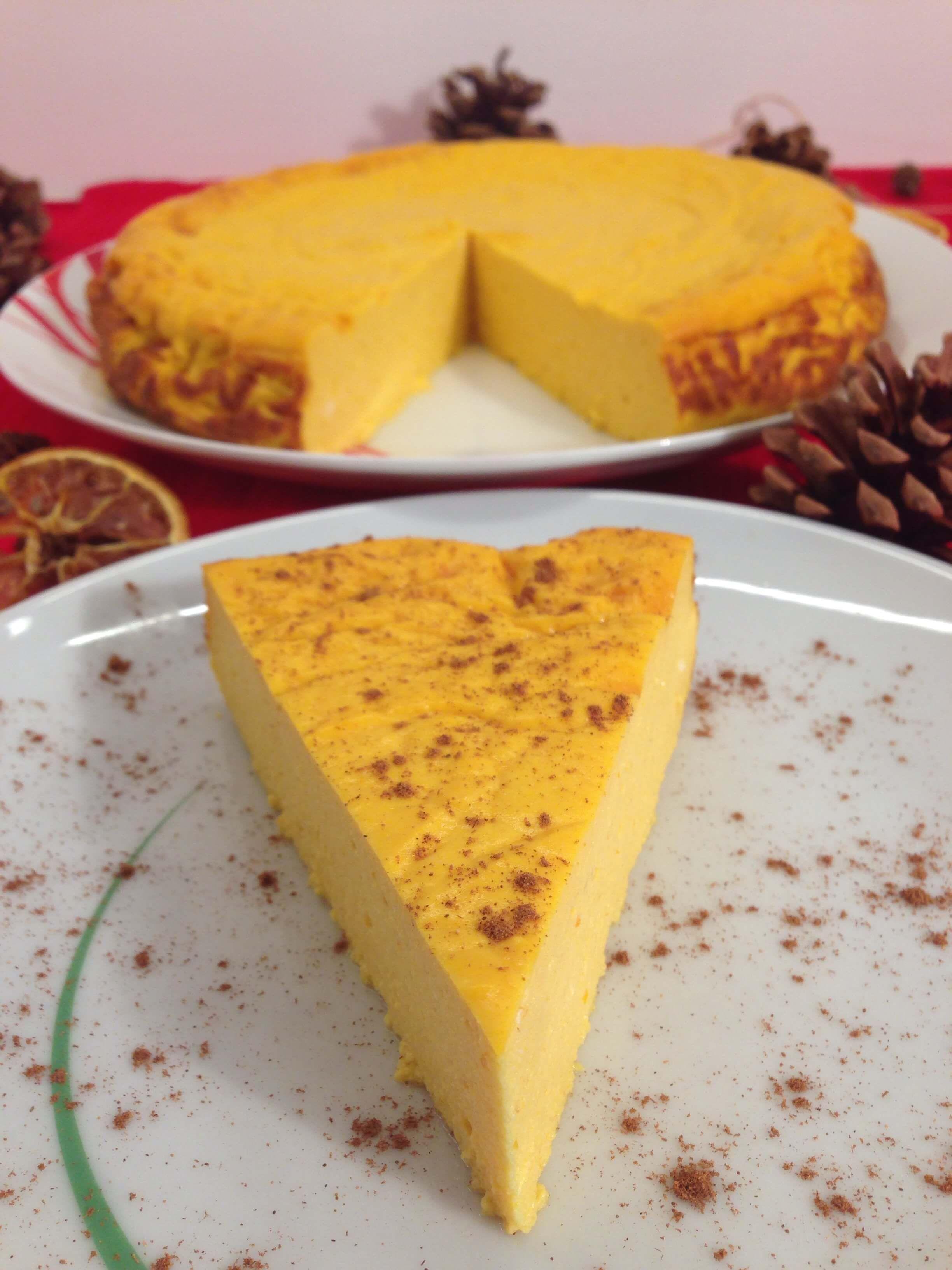 Low Carb Kurbiskuchen Ein Herbstlicher Cheesecake Traum Rezepte