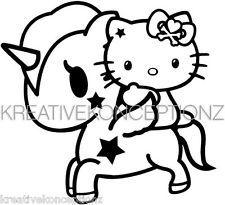 Unicorno Tokidoki Ebay Kitty Coloring Hello Kitty Unicorn Coloring Pages
