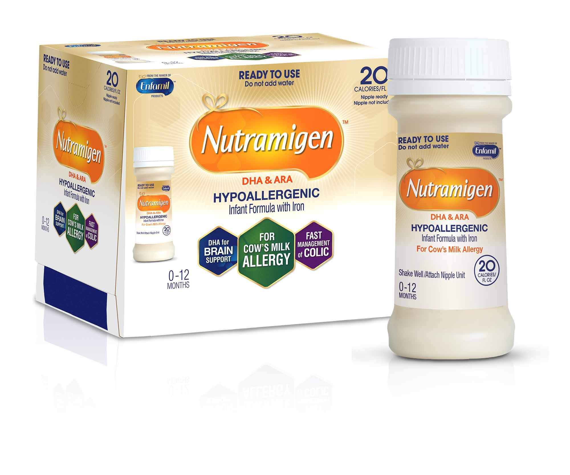 Nutramigen Hypoallergenic Infant Formula Ready To Use 32 Fl Oz
