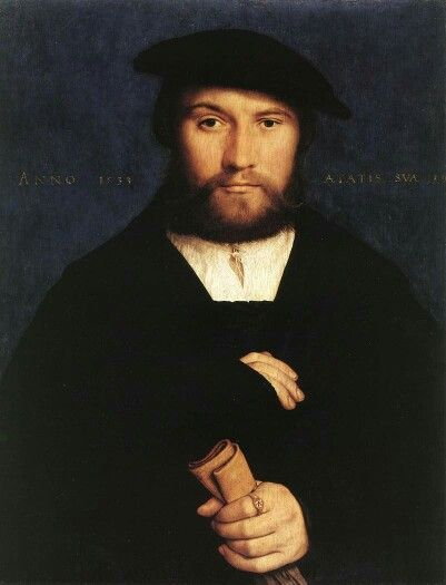 Hans Holbein the Younger, Portrait of a member of the Wedigh Family