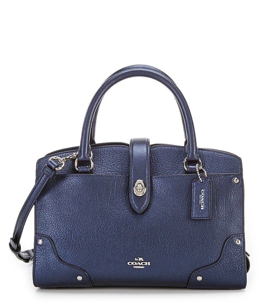 f6cc82f8ce7b Shop for COACH MERCER 24 METALLIC SATCHEL at Dillards.com. Visit Dillards.com  to find clothing