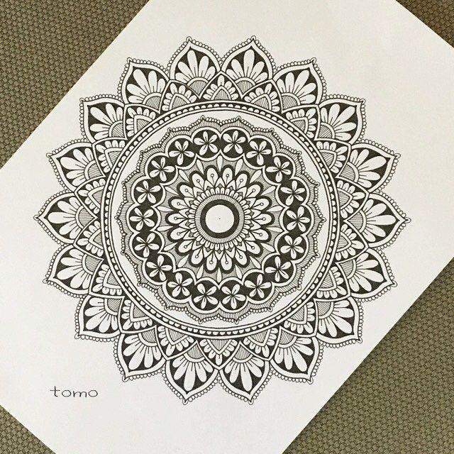 Neni K Dispozici Zadny Popis Fotky Mandala Design Art Mandala Art Lesson Mandala Drawing