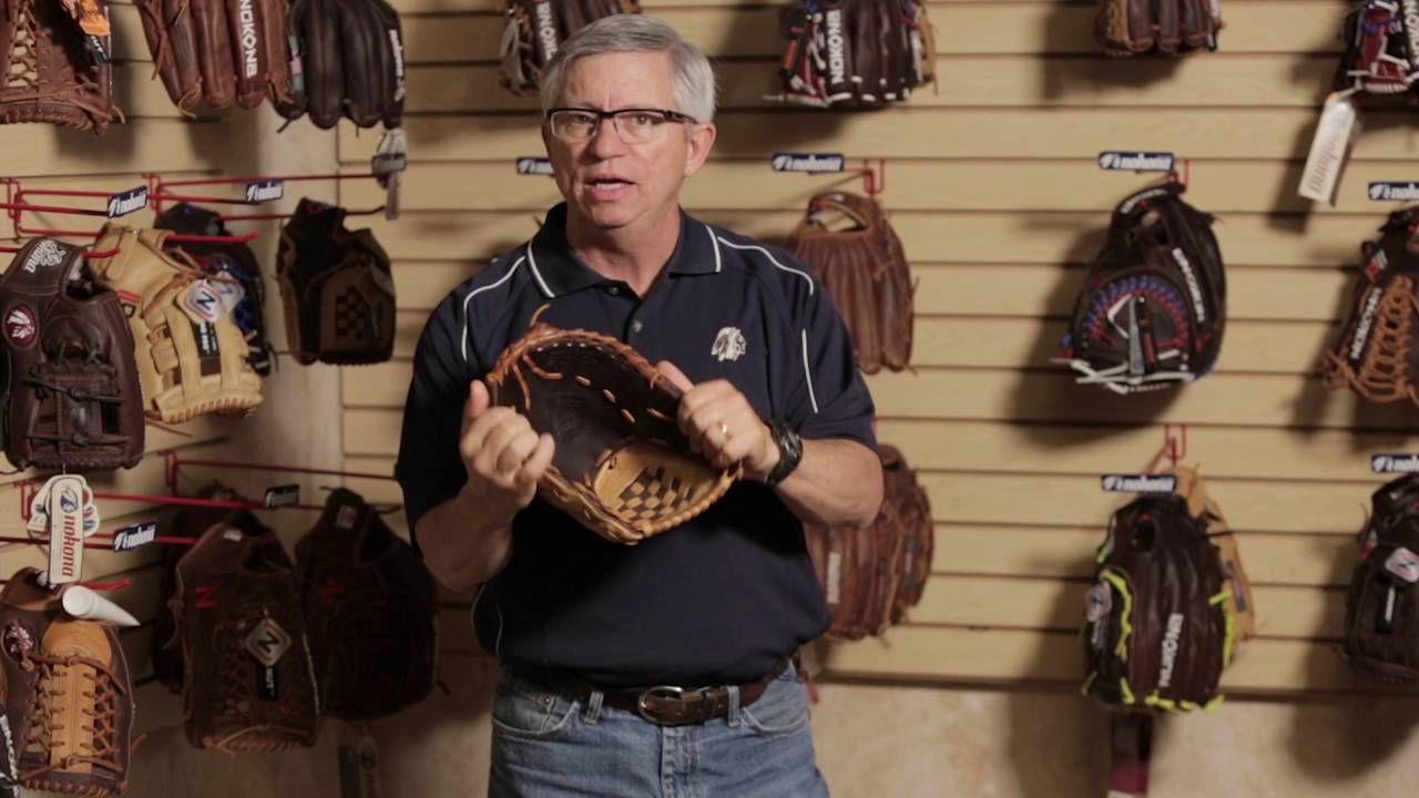 How To Break In A Nokona Baseball Or Softball Glove Softball Gloves Baseball Glove Gloves