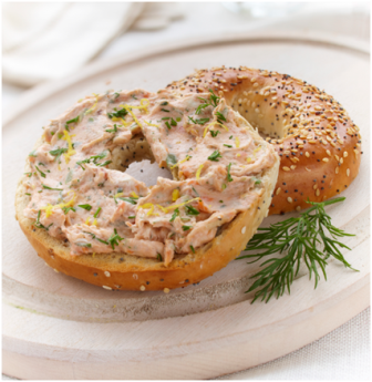 Smoked Salmon & Bagels are a classic taste that never goes out of style especially with this recipe for a Smokin Salmon bagel.