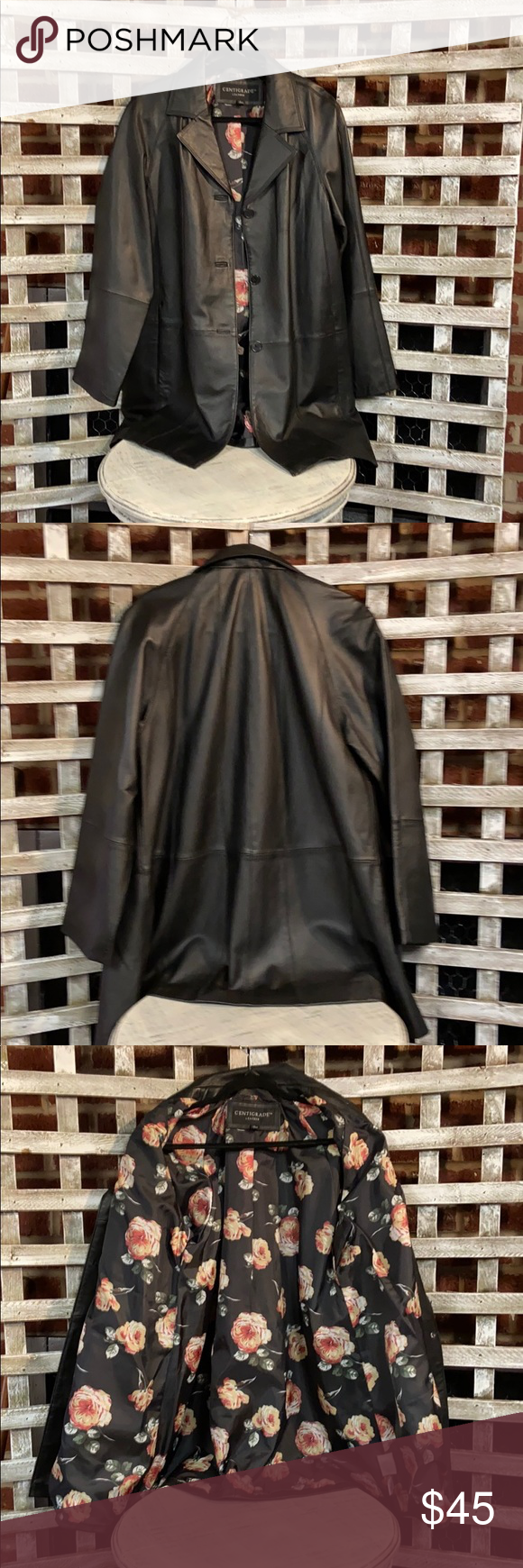 Centigrade Leather Jacket Beautifully Lined Leather Jacket Nwt Centigrade Jackets Coats Blazers Fashion Clothes Design Fashion Tips [ 1740 x 580 Pixel ]