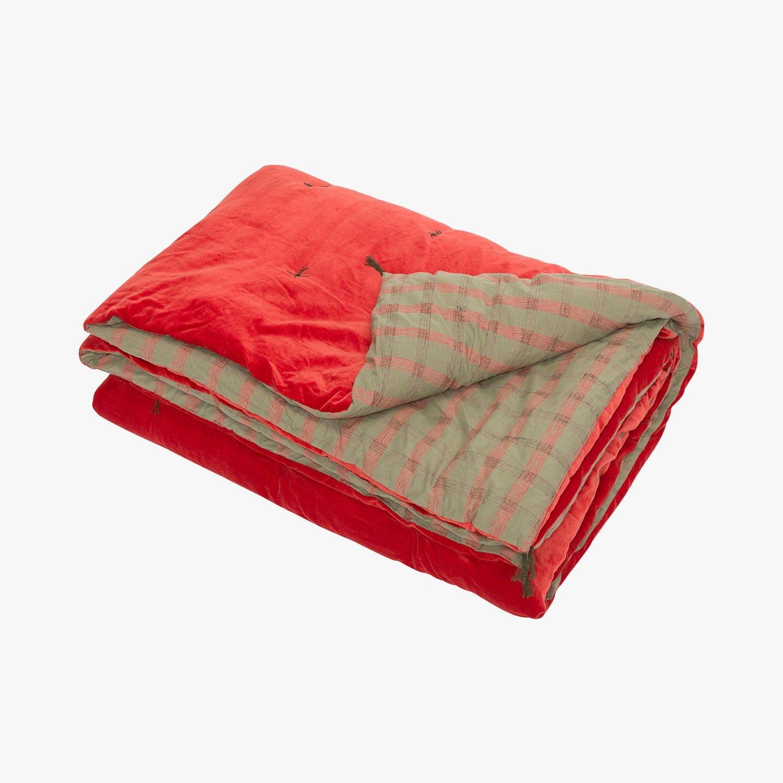 couvre lit velours caravane Nimbus, couvre lit, 1 pers   CARAVANE   Find this product on Bon  couvre lit velours caravane