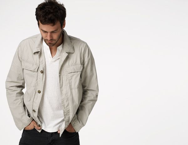 James Perse Utility Shirt Jacket | If I Were a Boy | Pinterest ...