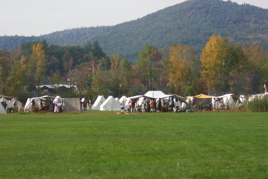 12, 45 ft max rv length, 1277 ft elev, accepts big rigs, 21 pull thrus,. Reinactment Near Lake George Battleground Campground East Coast Travel Lake George Catskill Park