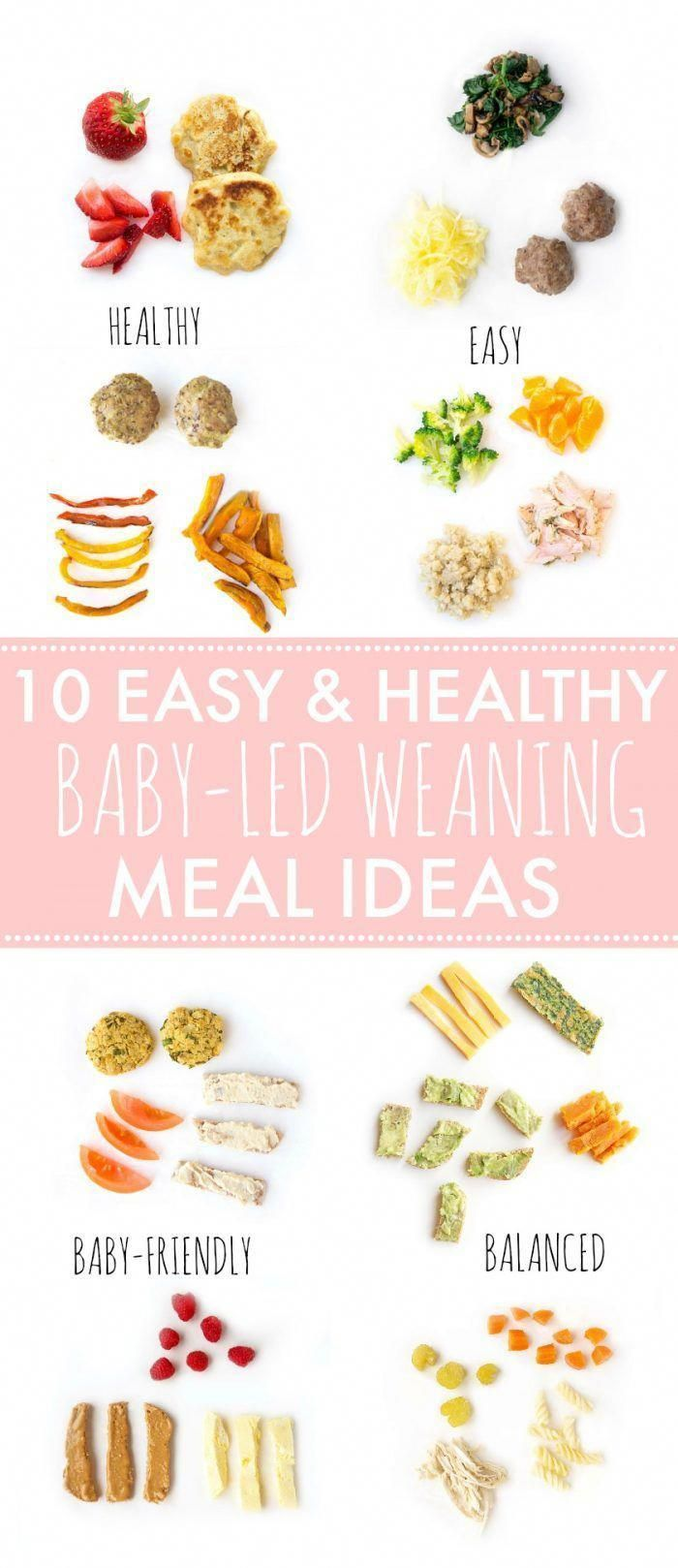 Looking for some easy and healthy meal ideas for baby-led weaning or finger foods for toddlers? Here...