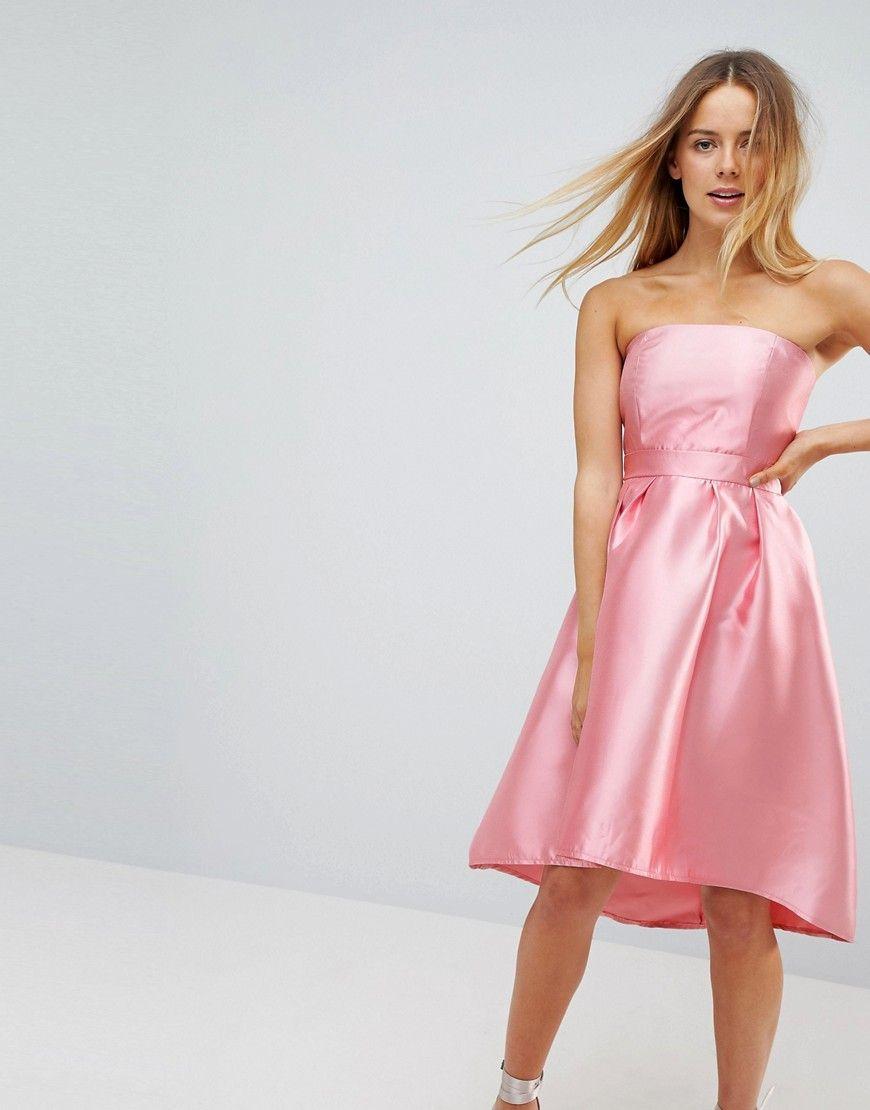 Vero Moda - Trägerloses Ballkleid - Rosa Jetzt bestellen unter ...