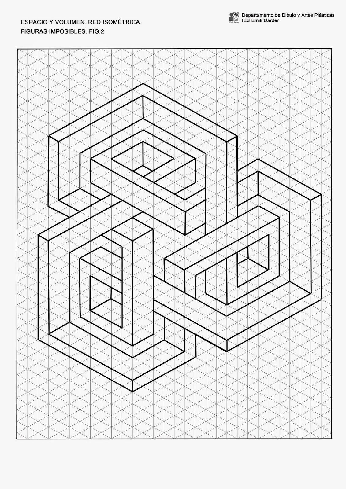 Resultado de imagen de formas geométricas imposibles