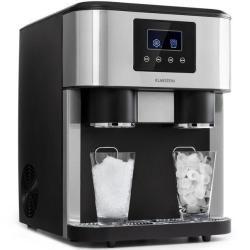 Eiszeit Crush Eiswürfelmaschine 2 Größen Crushed Eis silber KlarsteinKlarstein #kitchencrushes