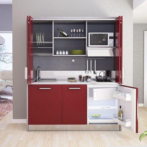 Cucina moderna / in legno / a scomparsa / compatta ROLLAWAY Mini ...