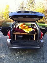 Subaru Forester Sleeping Platform Subaru Forester Subaru Subaru Forester Mods