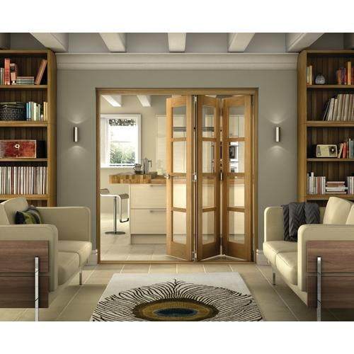 Belgrave 4 lite folding doors internal folding sliding - Doors to separate kitchen from living room ...