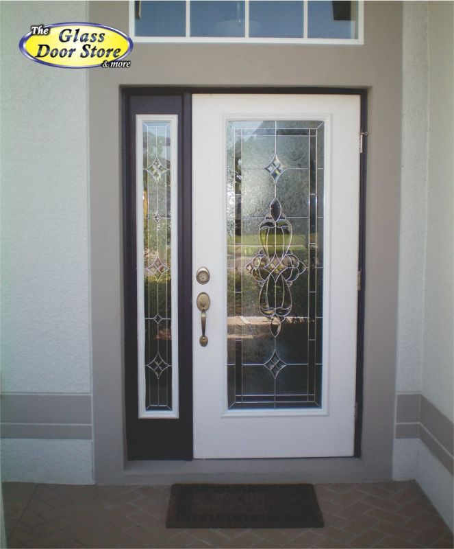 Single side window front door google search split for Exterior side entry doors