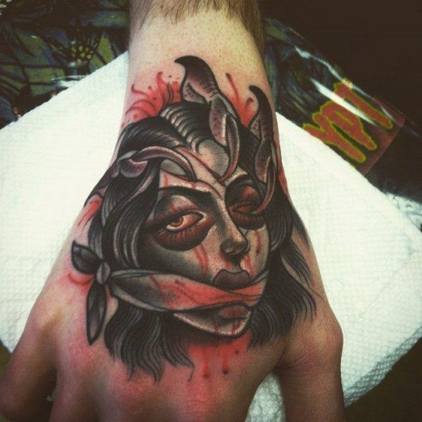 Men Badass Hand Tattoos - worldareg.com