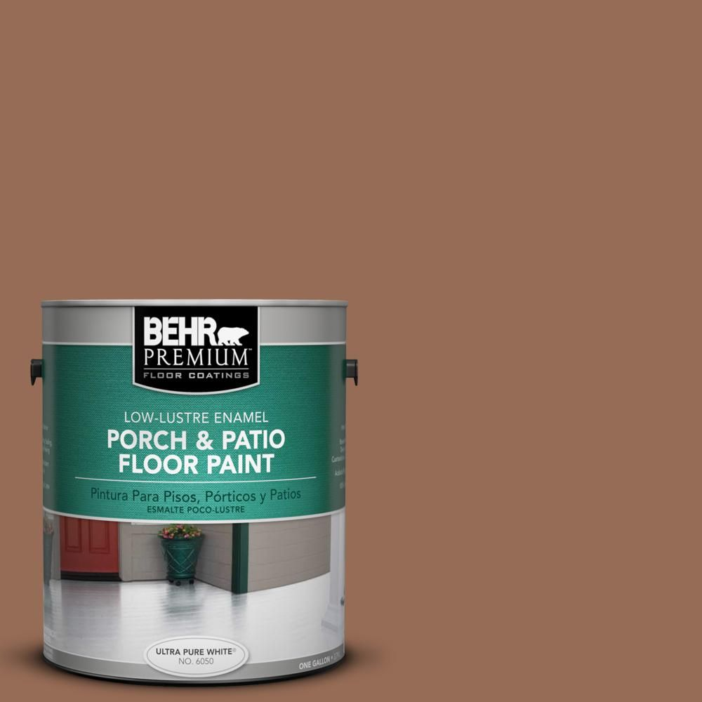 BEHR Premium 1 gal. #S200-6 Timeless Copper Low-Lustre Porch and Patio Floor Paint