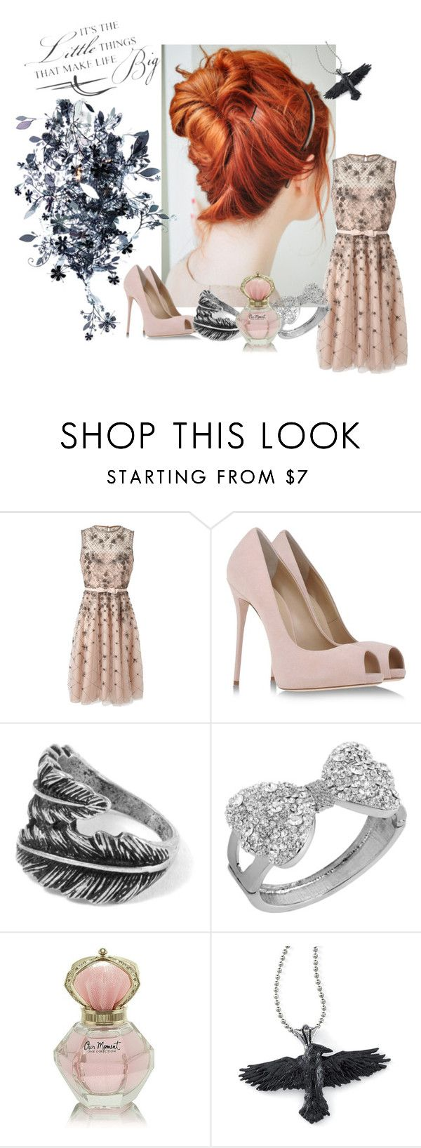 """""""The party"""" by fallenmusicangel ❤ liked on Polyvore featuring Valentino, Giuseppe Zanotti, Betsey Johnson, Artecnica, women's clothing, women, female, woman, misses and juniors"""